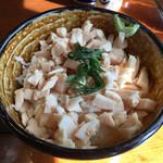 中華そば 四つ葉 - 「締めの鶏飯(けいはん)」350円