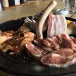 北のランプ亭 - 大地の炭焼定食