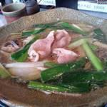 Teuchisobaakari - 連れが頼んだ鴨南蛮蕎麦。