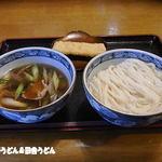 福中 - ねぎなんばんうどん+イカ天