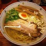 麺屋ひょっとこ - 和風柚子柳麺 700円