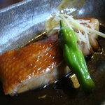 わらべ菜魚洞 - 金目の煮付け