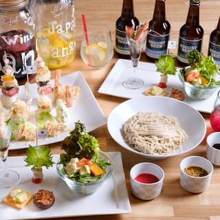 各種宴会コース、2480円~。女子会/食べ放題/個室/貸切