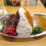 スパイス - ビーフ&チキンカレー(大盛り)¥830
