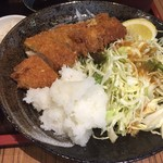 大阪炉端キッチンMARUDA-I - おろしトンカツ