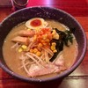 さんじ - 料理写真:魚介豚骨味噌そば850円(月金限定)