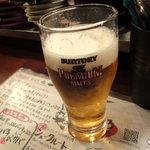 びすとろ UOKIN - ビール(プレミアムモルツ)