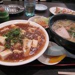 中華料理 珉龍 - マーボー丼セット