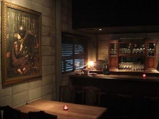 カーブ ロゼッタ - 2階のワインバー