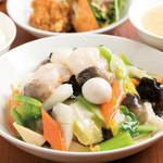 中国料理 天安門 - 八宝菜定食