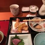 和彩食楽小田 - +熱燗をいただきました