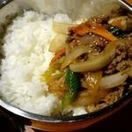 ソナム - ランチ『プルコギ丼』¥850-