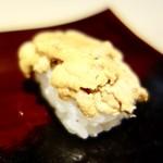 63033126 - [2017/02]寿司⑫ 今治産黒うにの握り