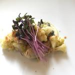 Racine - 牡蠣とカリフラワー