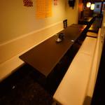 花火の宴 - テーブル席