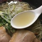 アイアイラーメン - 地鶏ガラ、豚骨、本枯れ節、いりこ等のスープ(東武百貨店池袋店「大鹿児島展」)