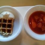 レストラン&me - ☆ いちごの スイーツバイキングから…