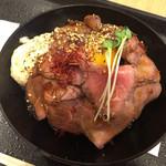 63038779 - ローストビーフ丼  880円
