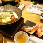 Koraku - 鍋、茹でカニ