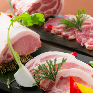 【厳選した豚肉♪】色々なこだわり&製法で!より美味しく提供♪