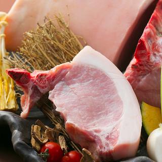 豚肉を色々なこだわり製法で!美味♪