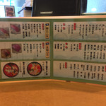 市場ずし 魚辰 - 市場ずし 魚辰(福岡県福岡市中央区長浜・市場会館1F)メニュー