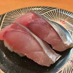 市場ずし 魚辰 - 市場ずし 魚辰(福岡県福岡市中央区長浜・市場会館1F)生さば 216円