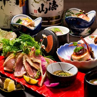 九州地鶏全9品+飲放3H4000円~!!◆完全個室完備◆
