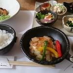 TOMO - 料理写真:2017-02-24訪問 ランチ・メインディッシュ「①1080yen