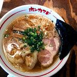 本竈2 - 海老わんたん麺醤油味 2011.01.04