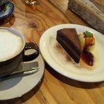CAFE TARO - ガトーショコラ ケーキSET
