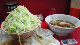 ラーメン二郎 三田本店 - 11/24に食べた麺増し