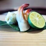 63050667 - ミル貝蒸し ふきのとうの天ぷら