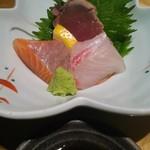 63052012 - 鮮魚三種盛り