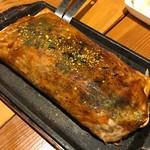 やきやき鉄板グリル ひまわり - 松山に来たら三津焼!そばが入って広島焼きのようで違うんだ!