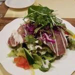 ビストロ オララ - シェフの気まぐれサラダ