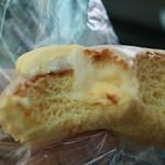 63059551 - こちらはクリームとチョコレートがレモン牛乳味です