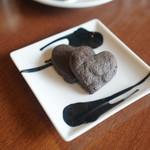 魚太郎・蔵のまちCafe - ハートのクッキー