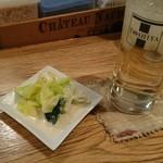 TOSHIYA Verde - お通し&ウイスキーソーダ