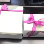 Yauatcha - ケーキの箱