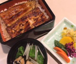 川桝 - 鰻重(3240円)