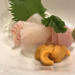 天ぷら料理 さくら - 刺身