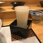 天ぷら料理 さくら - 活性清酒 純米 季節限定 福司