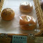 63065767 - 日替わりパン:ソフトベーグル 売り場
