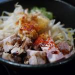 頑固麺 - 料理写真:MAZESOBA~☆