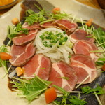 キッチンイナバ - イノシシのタタキ