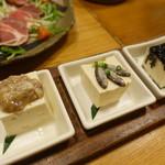キッチンイナバ - 豆腐三兄弟