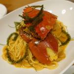 キッチンイナバ - ノコギリガザミのパスタ