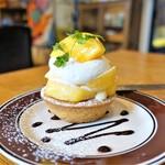 ケーキカフェ ポスト - 柿のタルト