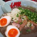 山岡家 - 料理写真:期間限定 鬼煮干しラーメン850円